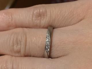 【フェスタリア サンクチュアリの口コミ】 マリッジリング購入にあたり、色んな店で指輪を見させて頂きましたが、どこ…