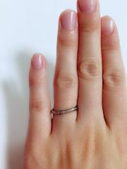 【MISS MONT ROND(ミスモントロンド)の口コミ】 指輪自体、太いのより細いものが好きで、少し華奢なものを探していました…