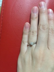 【ティファニー(Tiffany & Co.)の口コミ】 もし結婚したら指輪はティファニーと決めていました。やはり結婚指輪や婚…