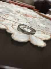 【4℃(ヨンドシー)の口コミ】 結婚指輪は、一生身につける大切なものです。しかし、家事になどでも邪魔に…