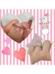 【銀座ダイヤモンドシライシの口コミ】 指輪のダイヤモンドの輝きがとてもよかったし店員さんの対応もとても親身に…
