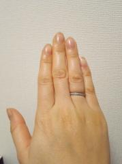 【宝寿堂(ほうじゅどう)の口コミ】 エンゲージリングはティファニーのリングをいただきましたので、マリッジは…