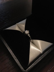 【エクセルコダイヤモンド(EXELCO DIAMOND)の口コミ】 リングのデザインの種類がとても豊富で、自分に似合うフォルムを見つけるこ…