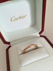 【カルティエ(Cartier)の口コミ】 婚約指輪といえば大きなダイヤが付いた高価なものをイメージしますが、普…