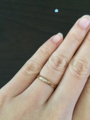 【Tis(ティス)の口コミ】 ピンクゴールドの指輪が欲しかったのですが、あまり他のブランドでも種類が…