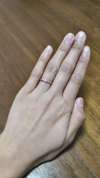【COCKTAIL(カクテル)の口コミ】 まずは価格です。ペアで買ってもお求めやすかったです。婚約指輪とは違い…