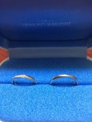 【銀座ダイヤモンドシライシの口コミ】 指にはめた時のはめ心地、指へのフィット感、それと指とのバランスなどがよ…