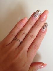 【canal4℃(カナルヨンドシー)の口コミ】 最近の指輪はダイヤモンドがついているものが多くなってきているけど、私も…