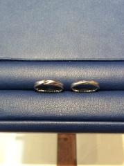 【銀座ダイヤモンドシライシの口コミ】 たくさんの種類の指輪を試着させていただきました。 その中で、2人が揃っ…