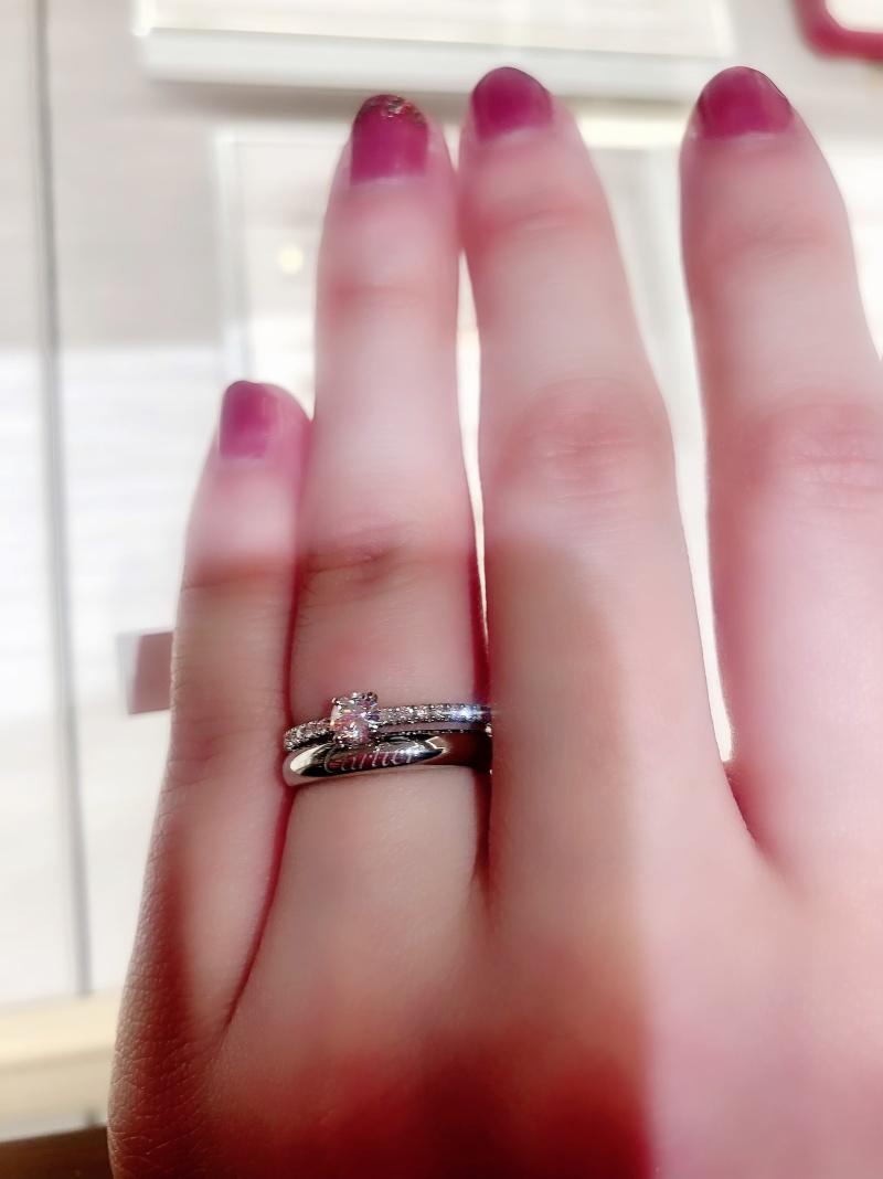 指輪 カルティエ 結婚
