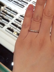 【ラザール ダイヤモンド(LAZARE DIAMOND)の口コミ】 有名なブランド数店舗と比較しましたが、ダイヤモンドの輝きは群を抜いて美…