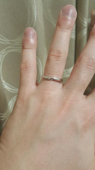 【TASAKI(タサキ)の口コミ】 結婚指輪を購入するにあたって妻と相談したところ、重ねづけすることも多…