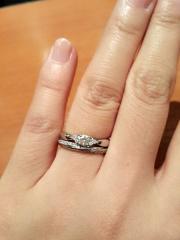 【ティファニー(Tiffany & Co.)の口コミ】 幼い頃から憧れていたブランド。婚約指輪はここ!とそうゆうものなんだ、…