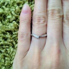 【俄(にわか)の口コミ】 小さめの私の指にもちょうどよい大きさであったことが第一のポイントでした…
