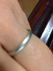 【の口コミ】 この結婚指輪に決めたのは、大丸の接客態度がよかったことと、前に買った婚…