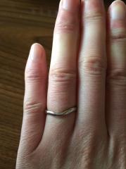 【ティファニー(Tiffany & Co.)の口コミ】 婚約指輪を先に決めて、いただいていたのでそれと同じブランドにしたいと…