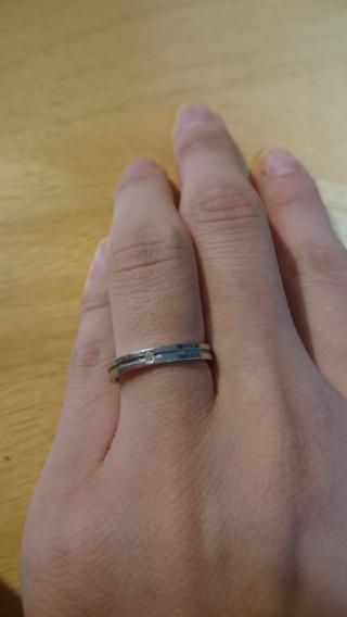 【アイプリモ(I-PRIMO)の口コミ】 旦那が営業マンなのでゴツゴツしたのや、太めの指輪はNGだったので、私の…
