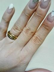 【カルティエ(Cartier)の口コミ】 亡くなった母がカルティエのトリニティをしていた為、初めから結構指輪はト…
