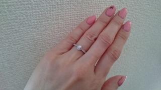 【ヴァンドーム青山(Vendome Aoyama)の口コミ】 ダイヤモンド好きな私を知っていた彼が選んで買ってくれました!1粒石も…
