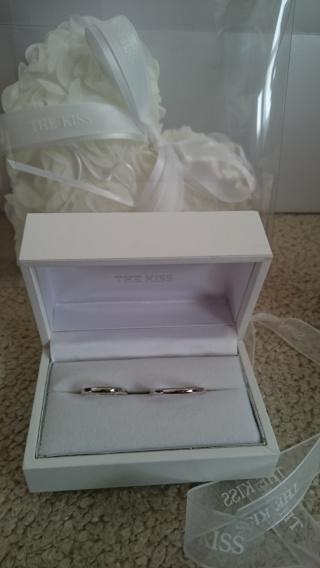 【THE KISS(ザ・キッス)の口コミ】 ザキッスのディズニーシリーズの結婚指輪は サンプルが、置かれているとこ…
