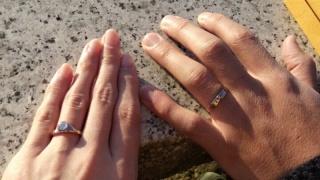 【鎚舞(ついぶ)京都工房の口コミ】 手作りの結婚指輪にこだわっていたので、まずは手作りできる工房を探しまし…