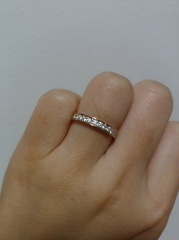 【銀座ダイヤモンドシライシの口コミ】 指輪の決め手は…!!!!!三件以上のブランドを回って色々…