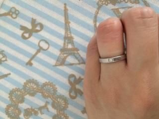 【ブルガリ(BVLGARI)の口コミ】 結婚指輪なので、常にはめていても気にならないデザインの物を探していまし…