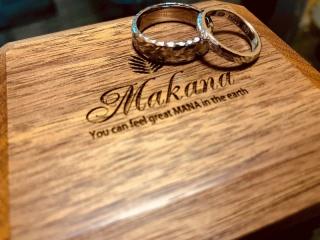 【Makana(マカナ)の口コミ】 幅広のリングを検索して県内のお店での取り扱いはビジュピコしかなかった…