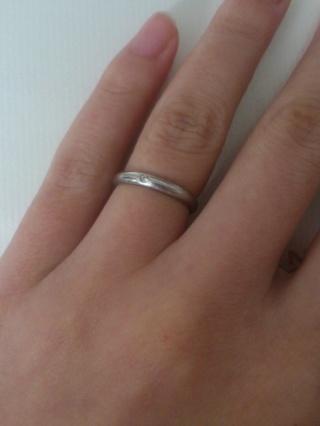 【カルティエ(Cartier)の口コミ】 一粒ダイヤが素朴で上品な印象を受けて魅かれたのと、年を重ねても飽きの…