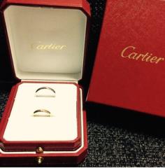 【カルティエ(Cartier)の口コミ】 憧れのブランドでしたので婚約指輪、結婚指輪ともにカルティエのリングを選…