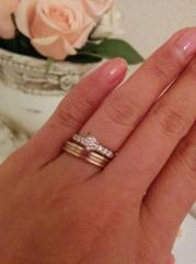 【カルティエ(Cartier)の口コミ】 色々なブランドの結婚指輪を見ましたが、昔からカルティエに憧れていたの…