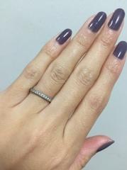 【ティファニー(Tiffany & Co.)の口コミ】 なんといってもダイヤモンドの輝きが圧倒的に美しかったのが決め手でした…