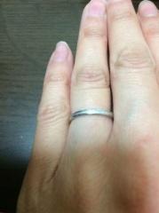 【ギンザタナカブライダル(GINZA TANAKA BRIDAL)の口コミ】 結婚指輪は、絶対に中央ミル打ちのもの!とこだわっていました。両親の結婚…