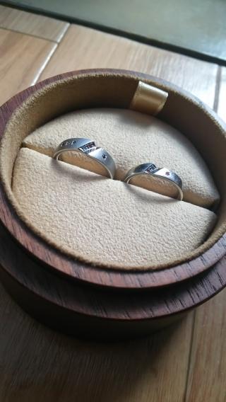 【COLANY(コラニー)の口コミ】 指輪のデザイン自体も気に入ったのですが元々決まった形ではなく、何かオリ…