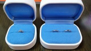 【銀座ダイヤモンドシライシの口コミ】 デザイン性とダイヤモンド&プラチナの信頼性(高品質)で決めまし…