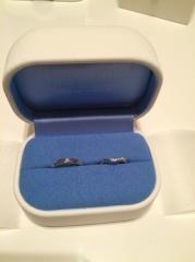 【銀座ダイヤモンドシライシの口コミ】 指輪をつけたときの指がきれいに見えるデザインを重視しました。接客業で…