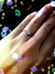 【SIND BAD(シンドバット)の口コミ】 旦那さんと2人で納得の行く物を選びました!婚約指輪だけど、一緒に選びに…