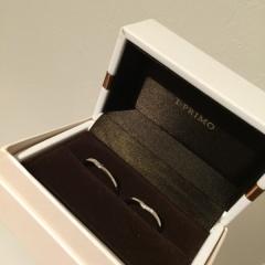 【アイプリモ(I-PRIMO)の口コミ】 シンプルなデザインの結婚指輪を探していたのですが、たくさんあって迷って…