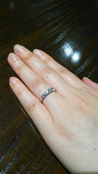 【TANZO(タンゾウ)の口コミ】 指輪のデザイン、ダイヤモンドの輝き、お店の商品に対する考え方、すべてが…