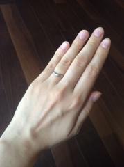 【俄(にわか)の口コミ】 指輪にそれぞれ名前がついていて、そこに意味も込められています。 月の雫…