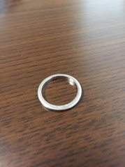 【ティファニー(Tiffany & Co.)の口コミ】 結婚指輪は絶対にティファニーがいい!と決めていたので満足です。 女性側…