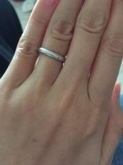 【ケイウノ ブライダル(K.UNO BRIDAL)の口コミ】 ディズニーが大好きでこのブランドがディズニーの結婚指輪を作っているとい…