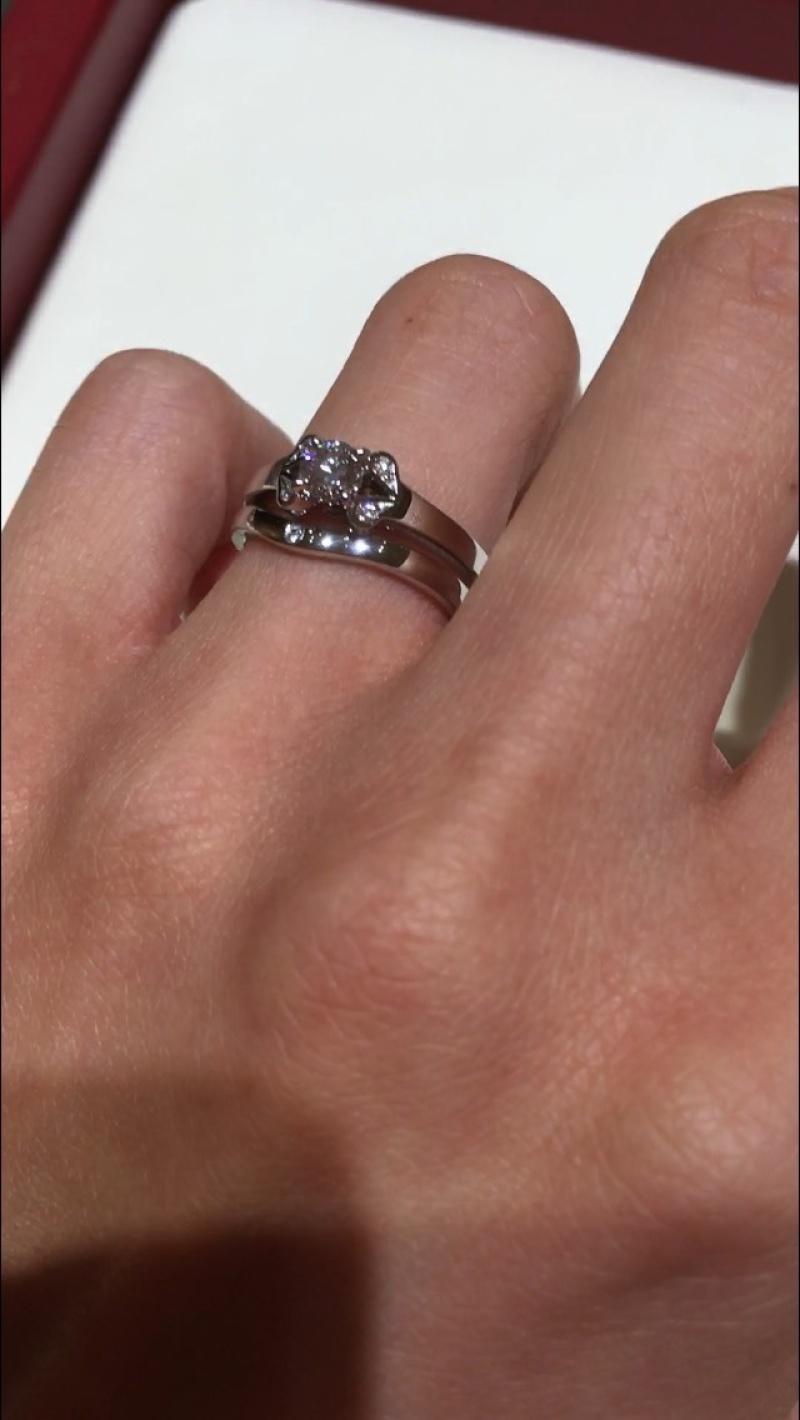 指輪 カルティエ バレリーナ 婚約