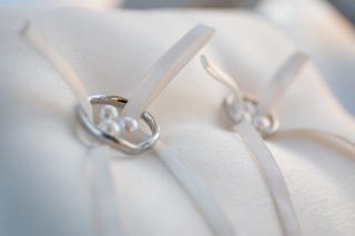 【ティファニー(Tiffany & Co.)の口コミ】 私が婚約指輪はどこでもよかったのだけど、結婚指輪は毎日ずっとつけるの…