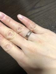 【Makana(マカナ)の口コミ】 ハワイアンジュエリーの指輪にするのは、決めていましたが、デザインや太…