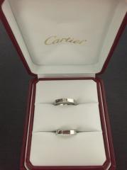 【カルティエ(Cartier)の口コミ】 元々はブルガリで考えていましたが、カルティエの方が素材の割には割安だと…