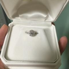 【WATANABE / 宝石・貴金属 渡辺の口コミ】 彼女が取り巻きタイプに指輪を欲しがってたので、デザインは決めてました…