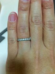 【ジュエリーツツミ(JEWELRY TSUTSUMI)の口コミ】 婚約指輪を買ってもらうにあたってまず普段つけられるのがいいなと思ってい…