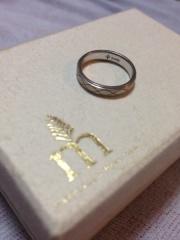 【Marriaged Marriage(マリッジド・マリッジ)の口コミ】 ネットショップで購入したのですが、これがいいな、と思ったリングをサン…
