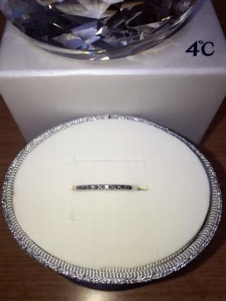 【4℃(ヨンドシー)の口コミ】 物心ついたときから、婚約指輪といえばダイヤがボン!とついているものを想…
